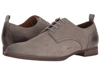 Rush By Gordon Rush Lindon Light Grey Suede Men's Lace Up Casual Shoes Gray