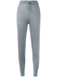 N.Peal Relaxed Lounge Trousers Grey