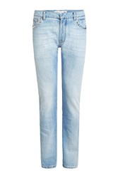 Valentino Slim Jeans With Rock Stud Detail