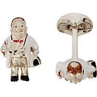 Deakin And Francis Men's Doctor Cufflinks Tan