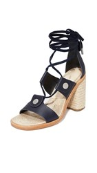 Rag And Bone Eden Lace Up Sandals Navy