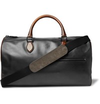 Berluti Jour Off Small Leather Holdall Black
