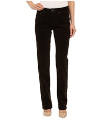 Jag Jeans Patton Mid Rise Straight 18 Wale Corduroy Dark Chocolate Women's Casual Pants Brown