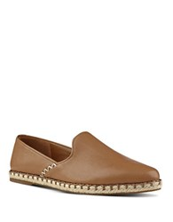 Nine West Unrico Leather Espadrilles Dark Natural