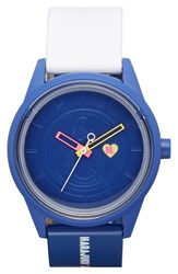 Women's Harajuku Lovers Resin Solar Watch 40Mm Out Of The Blue Limited Edition
