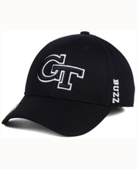 Top Of The World Georgia Tech Yellow Jackets Black White Booster Cap