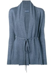 Zadig And Voltaire Tie Waist Cardigan Blue