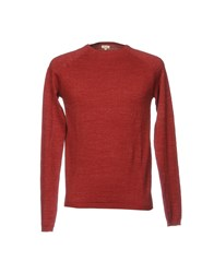 Scout Sweaters Brick Red