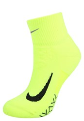 Nike Performance Sports Socks Volt Bright Cactus Reflective Silver Neon Yellow