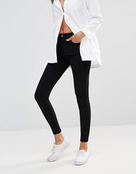 Dr. Denim Dr Lexy Mid Rise Second Skin Superskinny Jeans Black
