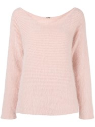 Adam By Adam Lippes Fluffy Scoop Neck Jumper 60