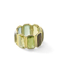 18K Rock Candy Fancy Rectangle Lollipop Ring In Mountain Ippolita Gold