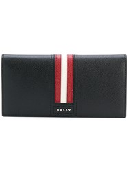 Bally Trigo Continental Wallet Black