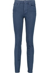Tory Burch High Rise Skinny Jeans Navy