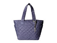 Le Sport Sac City Chelsea Tote Ink Denim Quilted Tote Handbags Navy