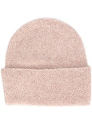Polo Ralph Lauren Knitted Beanie Nude And Neutrals