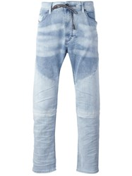 Diesel Drawstring Denim Jeans Blue
