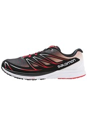 Salomon Sense Mantra 3 Trail Running Shoes Black White Radiant Red