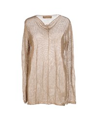 Nicolas And Mark Sweaters Camel