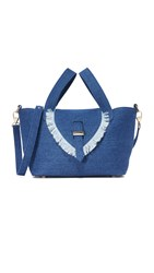 Meli Melo Thela Mini Cross Body Bag Blue Wash