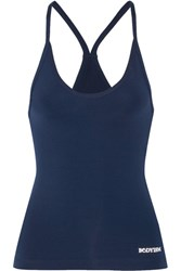 Bodyism Chloe Stretch Tank Storm Blue
