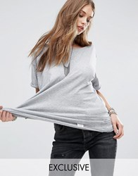 G Star Be Raw Loyanza Simple Jersey T Shirt Heather Grey