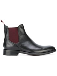 Oliver Sweeney 'Finch' Chelsea Boots Black