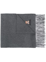 Moschino Teddy Bear Scarf Grey