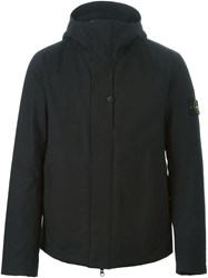 Stone Island Hooded Jacket Black