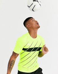 Puma Football Play Graphic T Shirt In Green