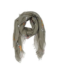 Patrizia Pepe Accessories Oblong Scarves Men Military Green