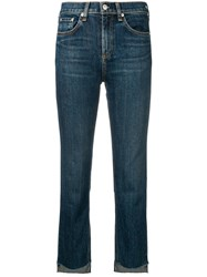 Rag And Bone Stove Pipe Jeans Blue