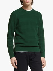 J. Lindeberg J.Lindeberg Randers Wool Cotton Sweater Green Fountain