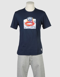 Bob Strollers Bob Short Sleeve T Shirts Dark Blue