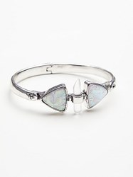 Free People Peyton Opal Locking Bangle By