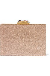 Kotur Taylor Glittered Perspex Box Clutch Gold