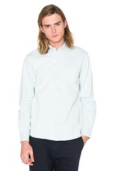 Saturdays Surf Nyc Crosby Denim Button Down Bleach Washed
