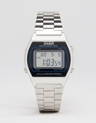 Casio Digital Watch In Silver B640wd Silver