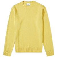 Harmony Winston Boiled Wool Knit Yellow
