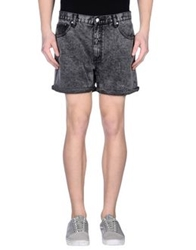 Cheap Monday Denim Bermudas Lead