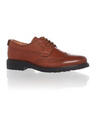 Peter Werth Oldman Full Grain Leather Brogue Tan