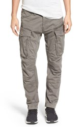 G Star Raw Rovik Tapered Fit Cargo Pants Gs Grey