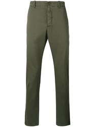 Ymc Classic Chino Trousers Green