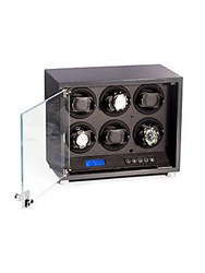Bey Berk Carbon Finish Watch Winder No Color