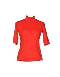 Marc Cain Sports T Shirts Red