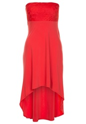 Morgan Rentel Cocktail Dress Party Dress Red