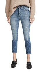 Dl1961 Farrow Cropped Vintage High Rise Skinny Jeans Tacoma