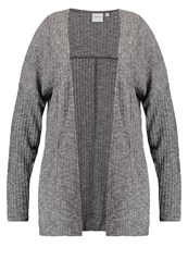 Junarose Jrellen Cardigan Medium Grey Melange Mottled Grey