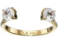 Cole Haan Cz Open Stone Ring Gold Crystal Ring