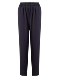East Crepe Trousers Blue